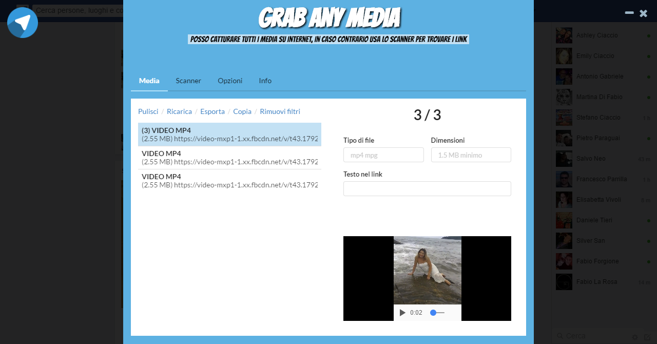 Installazione e Uso di Grab Any Media