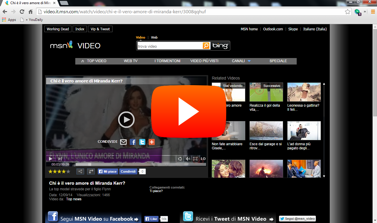 Download Video From MSN
