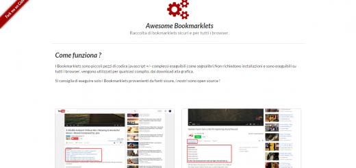 Awesome Bookmarklets