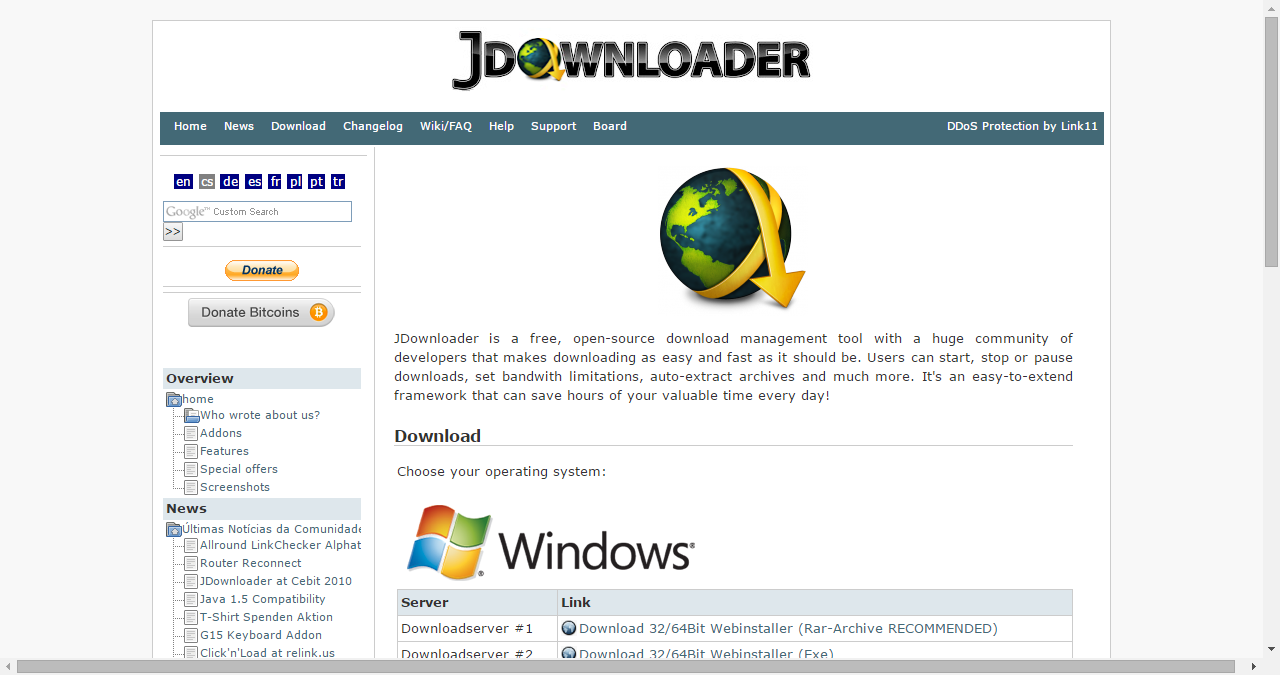 How to download video streaming rtmp:// with GAM and jDownloader